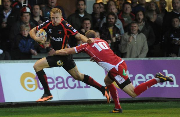 Injury denies Dragons wing Tom Prydie the chance to impress