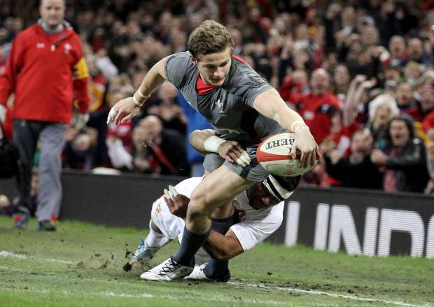 DANGER MAN: Newport Gwent Dragons will look to unleash Hallam Amos, the 19-year-old wing who so nearly celebrated his first Wales cap in last month's 17-7 victory over Tonga at Cardiff's Millennium Stadium with a spectacular try