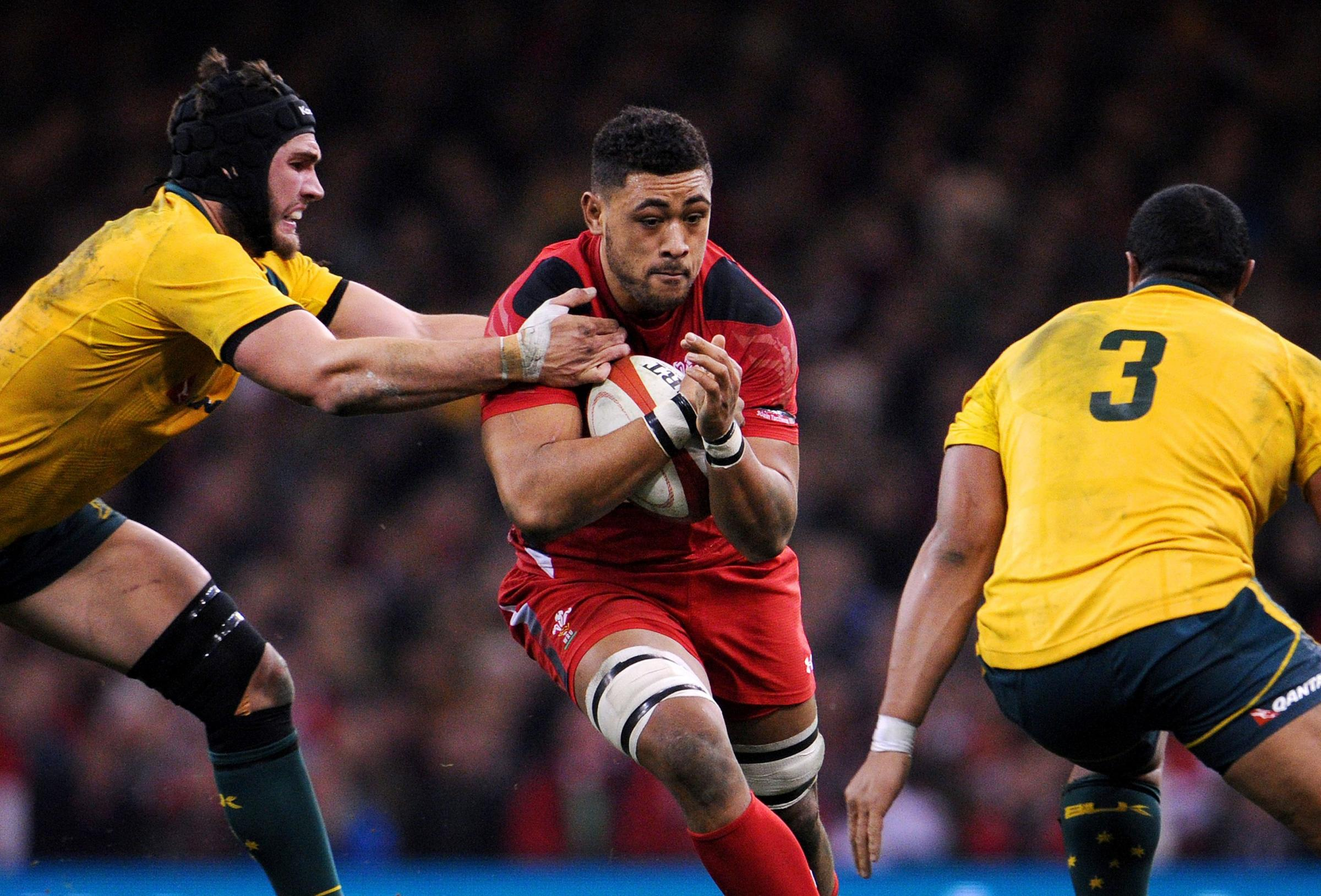 HE'S BACK: Toby Faletau will be back in action for the Newport Gwent Dragons this Friday night