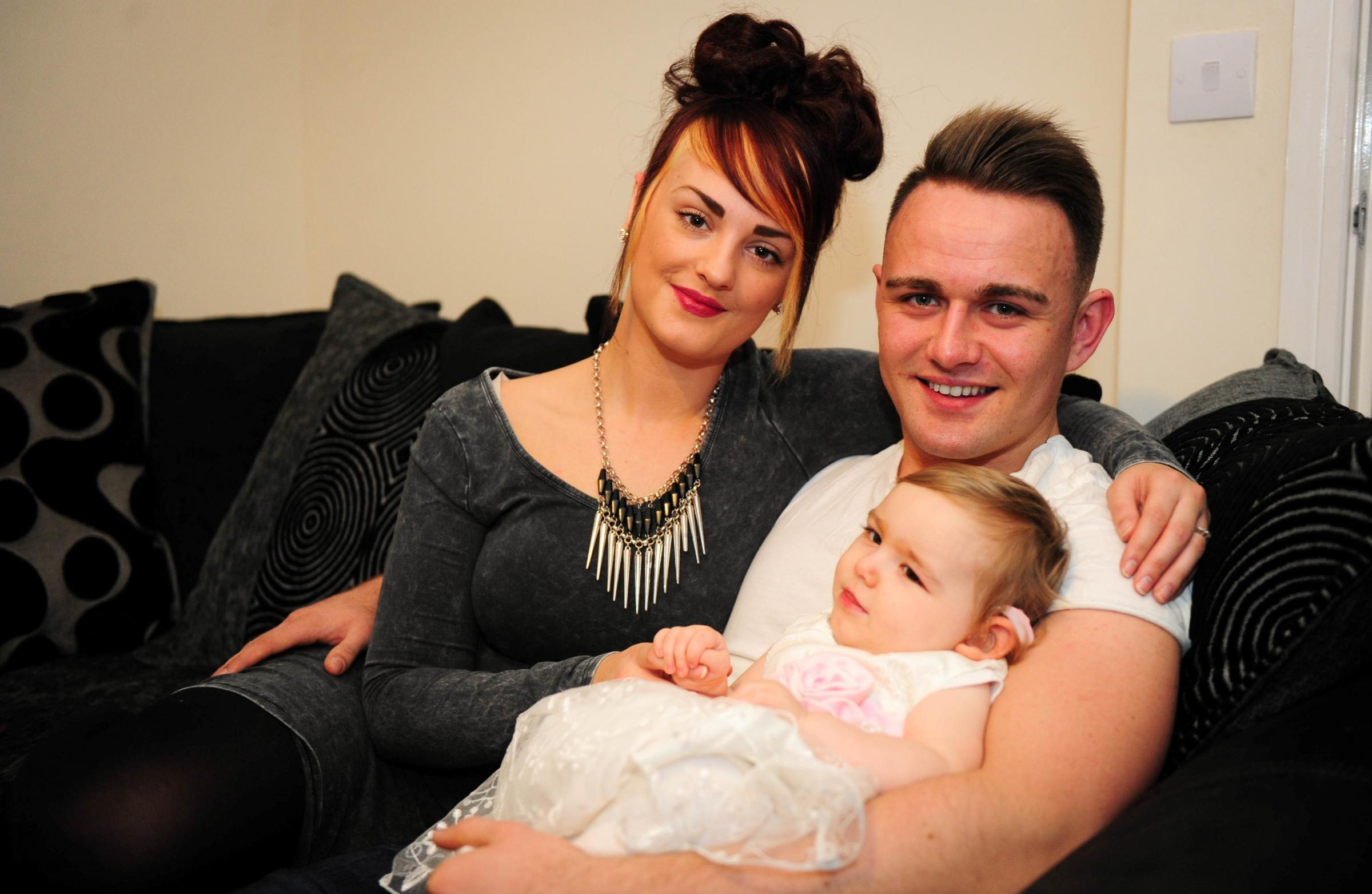 More than £12k raised to help Oakdale baby walk