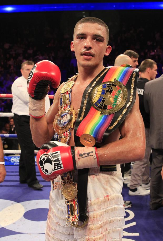 Campaign Series: O2 Boxing - 5/10/13 - Picture Lawrence Lustig -  Lee Selby (white shorts) v Ryan Walsh (3080176)