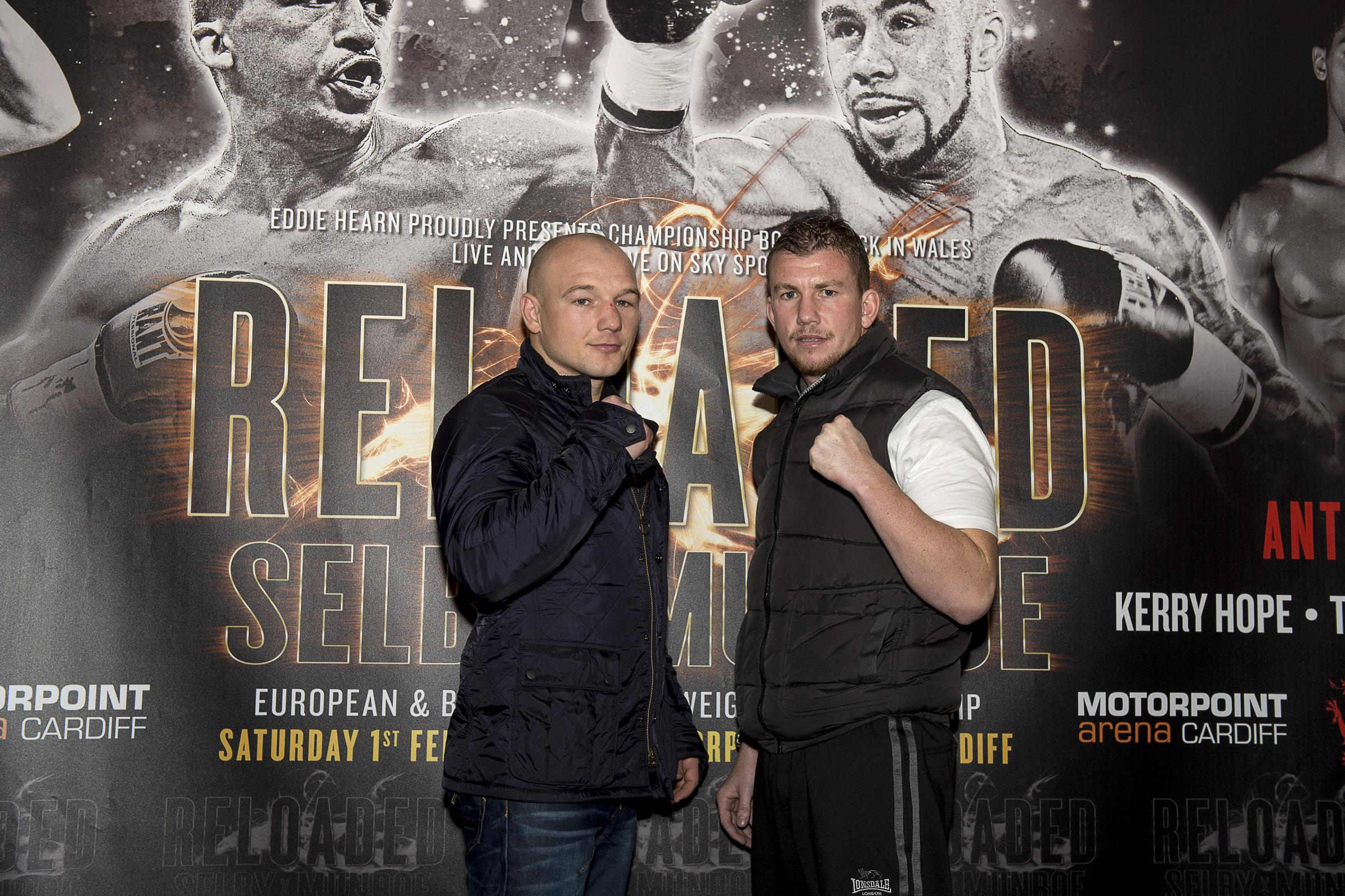 FRIENDLY RIVALS: Gavin Rees, left, and Gary Buckland will clash on February 1