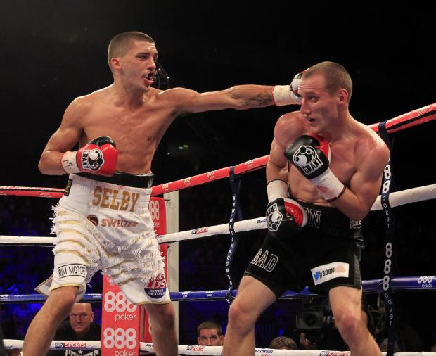 Campaign Series: TOP OF THE BILL: St Joseph's star Lee Selby, left, fights for the European title on February 1. Picture: Lawrence Lustig