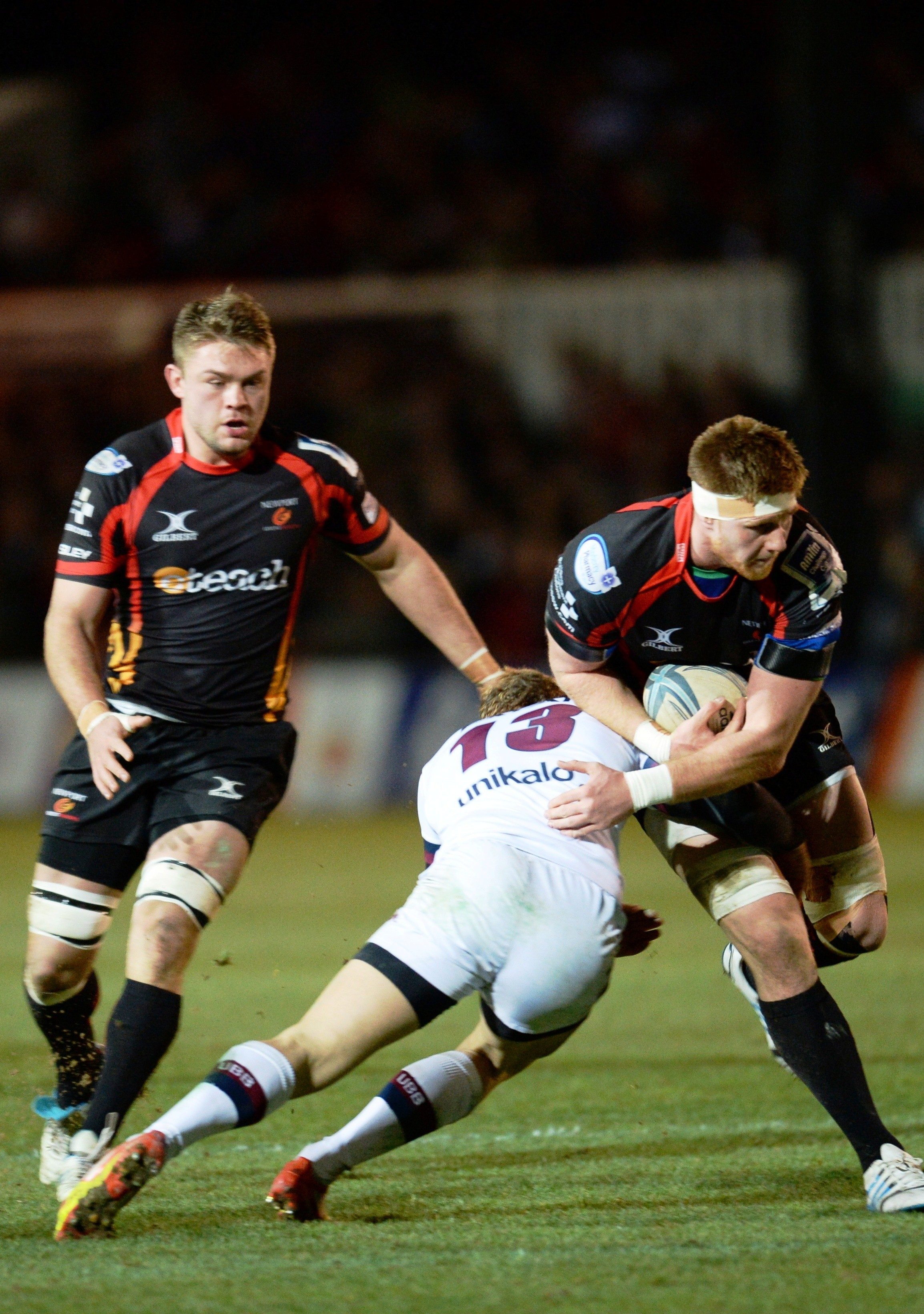 Andrew Coombs returns to back row for Dragons' European finale