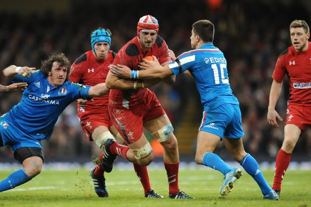 Campaign Series: Wales team for France clash: Charteris in for Coombs, Phillips dropped to bench