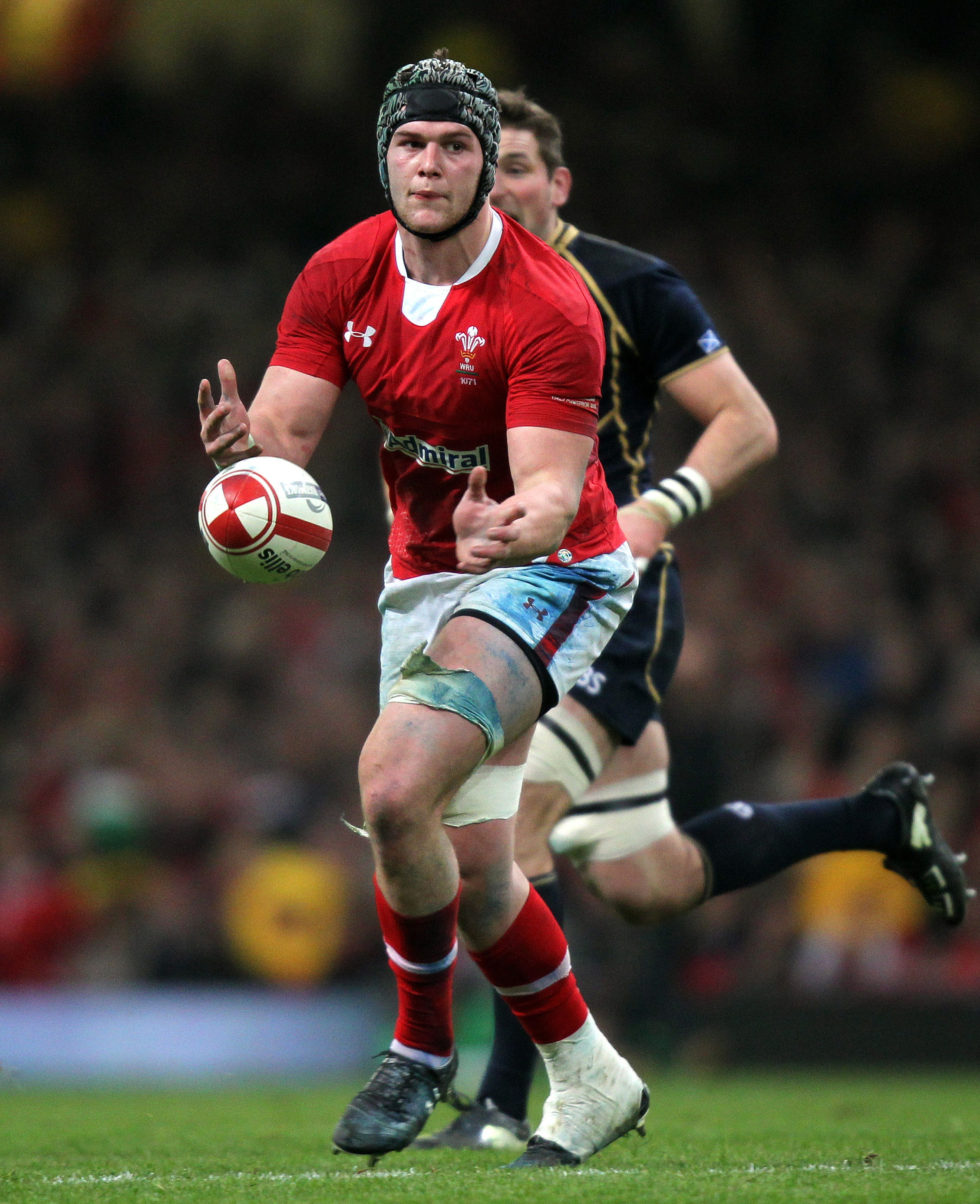 File photo dated 12/02/2012 of Dan Lydiate. PRESS ASSOCIATION Photo. Issue date: Tuesday April 30, 2013. Dan Lydiate has been named in the British and Irish Lions squad for the tour of Hong Kong and Australia, head coach Warren Gatland has announced. See