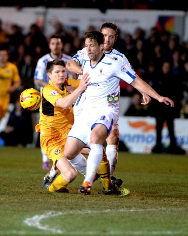 Campaign Series: TAKEN DOWN: Newport County's Ryan Burge