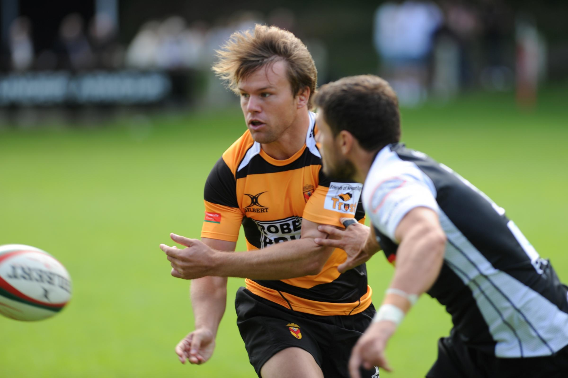 MAN OF THE MATCH: Newport's Geraint O'Driscoll