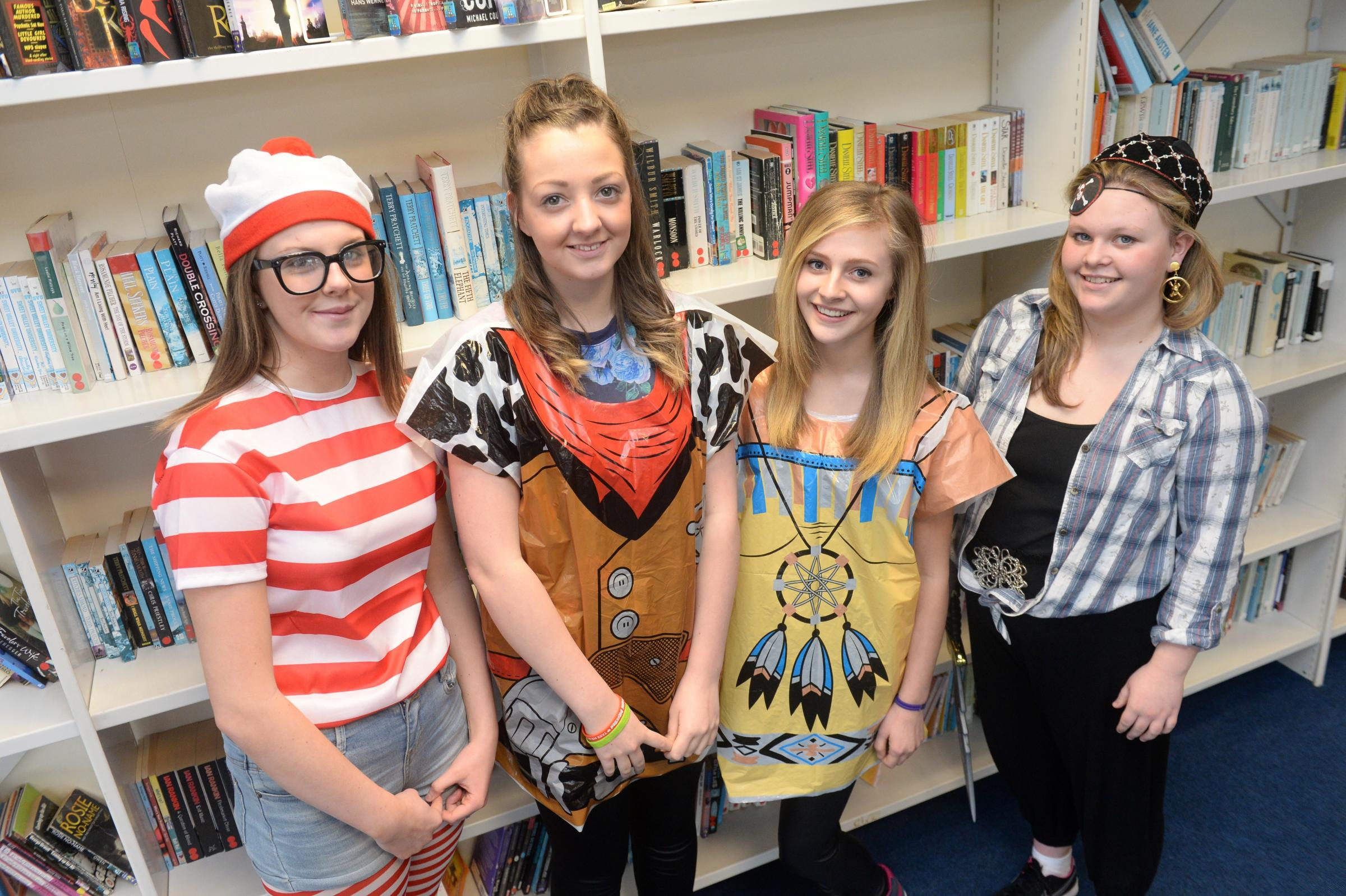 Caerphilly pupils celebrate World Book Day
