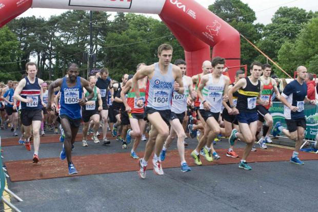 Traffic and parking disruption expected during Caerphilly 10k