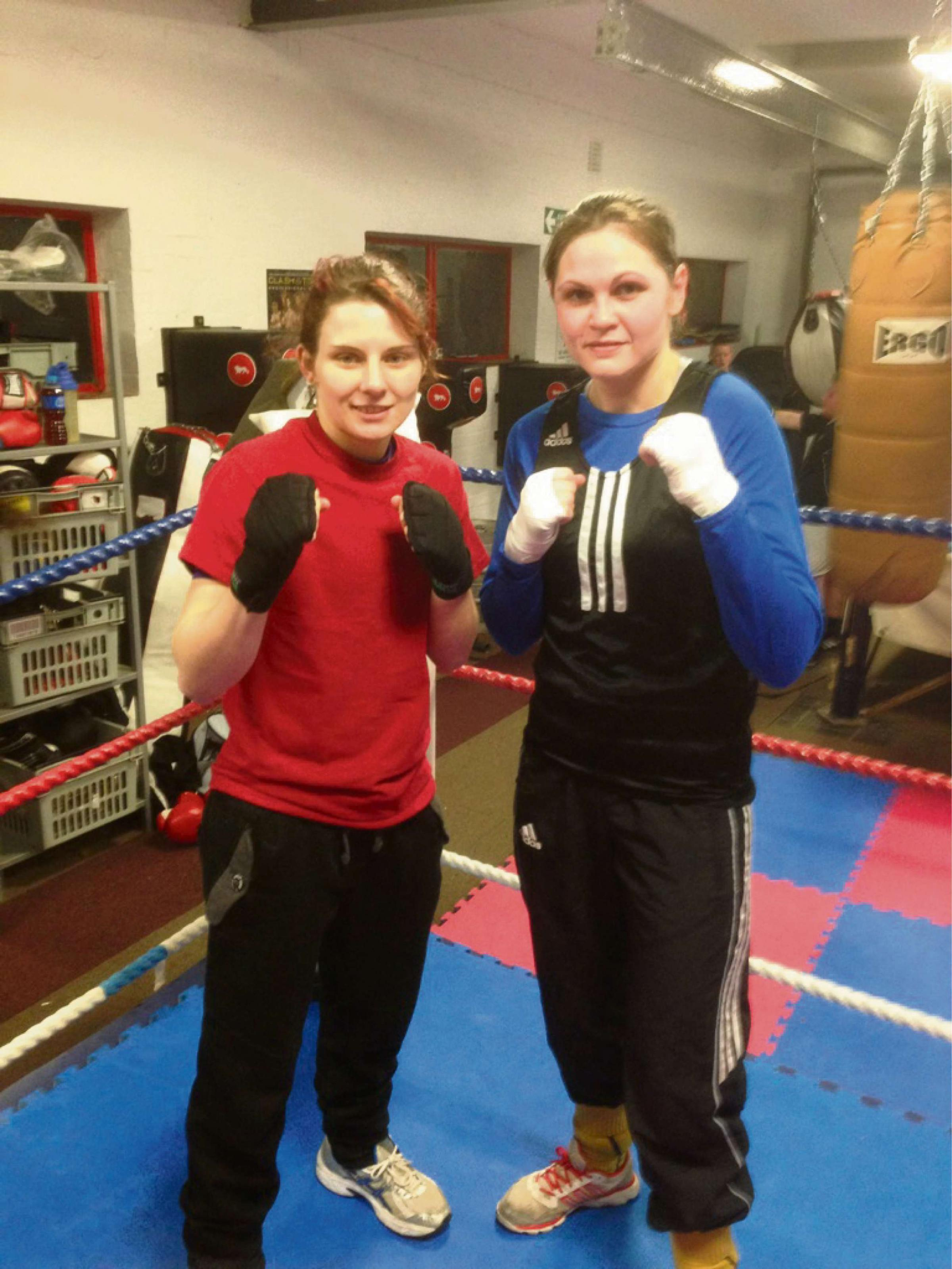 FINAL COUNTDOWN: Torfaen Warriors pair Ashley Brace and Becky Price