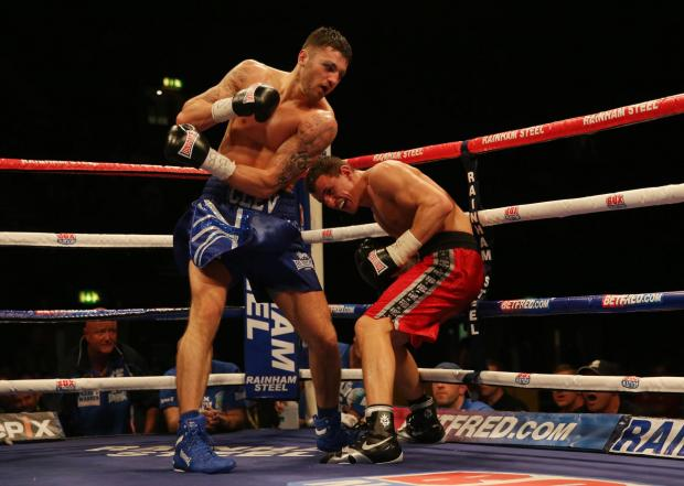Campaign Series: FIGHTING TALK: Nathan Cleverly, left, is closing in on a rematch with Tony Bellew