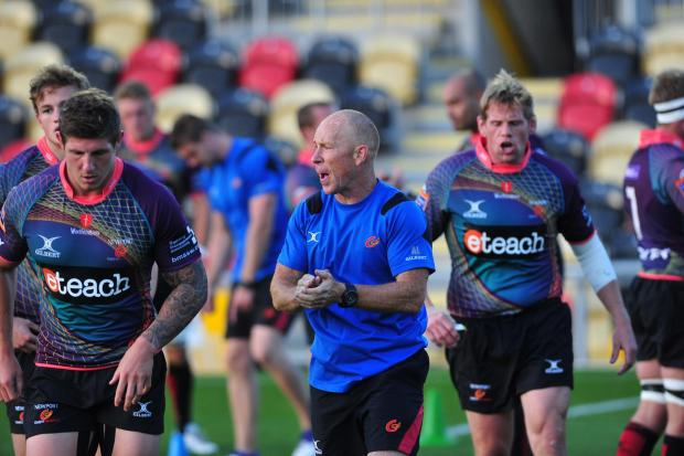 Campaign Series: Newport Gwent Dragons Head Conditioning Coach Alex Lawson (1086059)