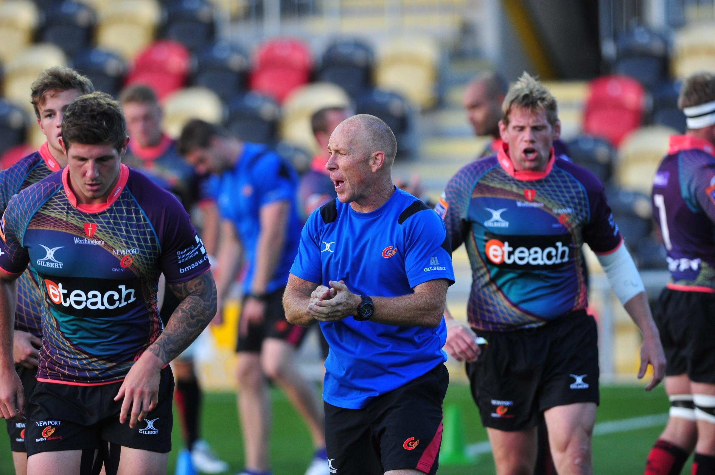 Newport Gwent Dragons Head Conditioning Coach Alex Lawson (1086059)