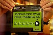 More than half of food businesses in Wales get top ratings