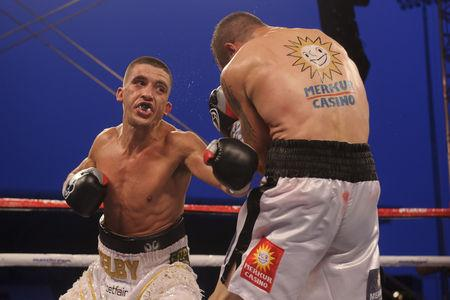 STATESIDE STAR: Lee Selby's latest title fight will be shown live in the US