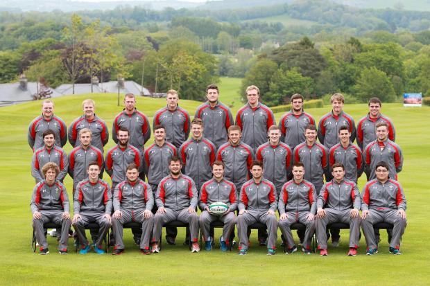 Campaign Series: 20.05.14 - Wales U20 Squad Photo -    © Huw Evans Picture Agency (6535253)