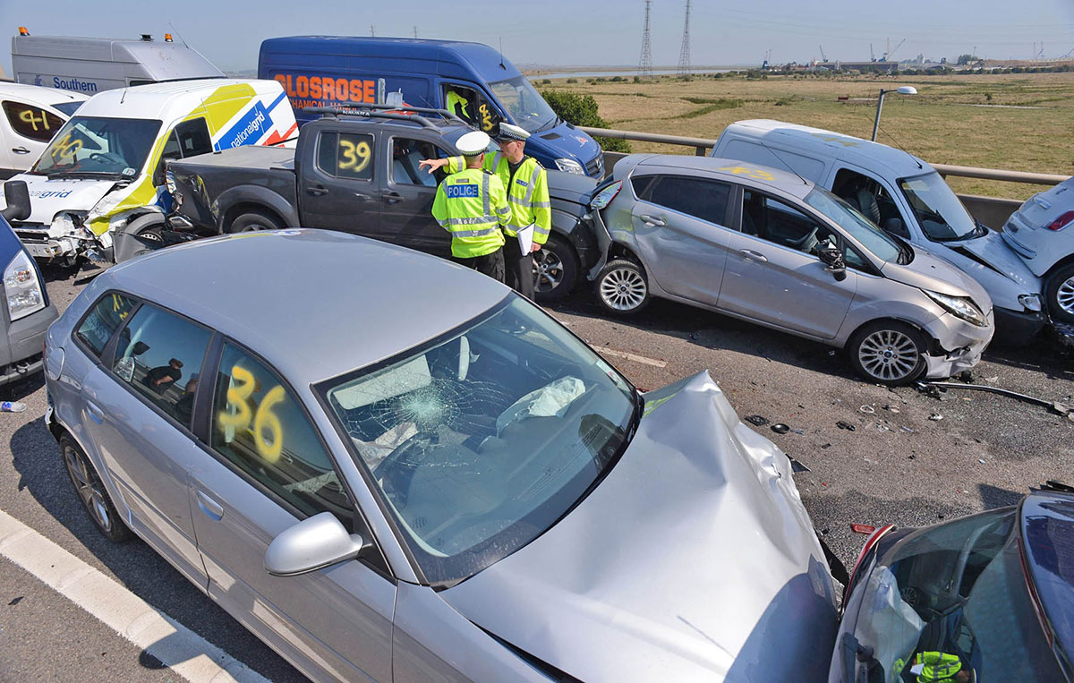 More Gwent car crash casualties - report