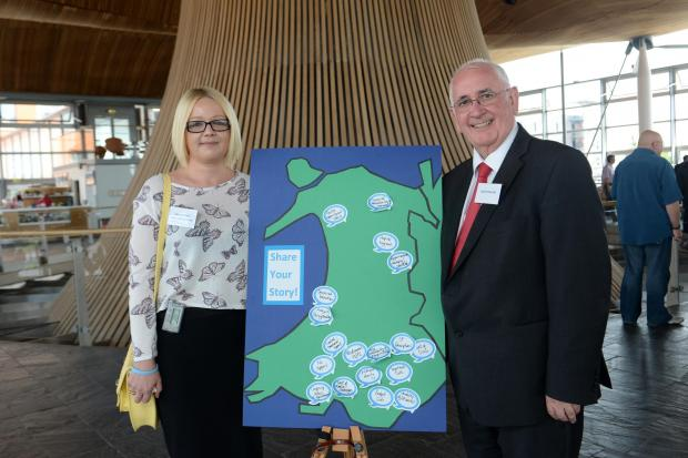 Campaign Series: Diabetes event at the Senedd.© WALES NEWS SERVICE  (7158101)
