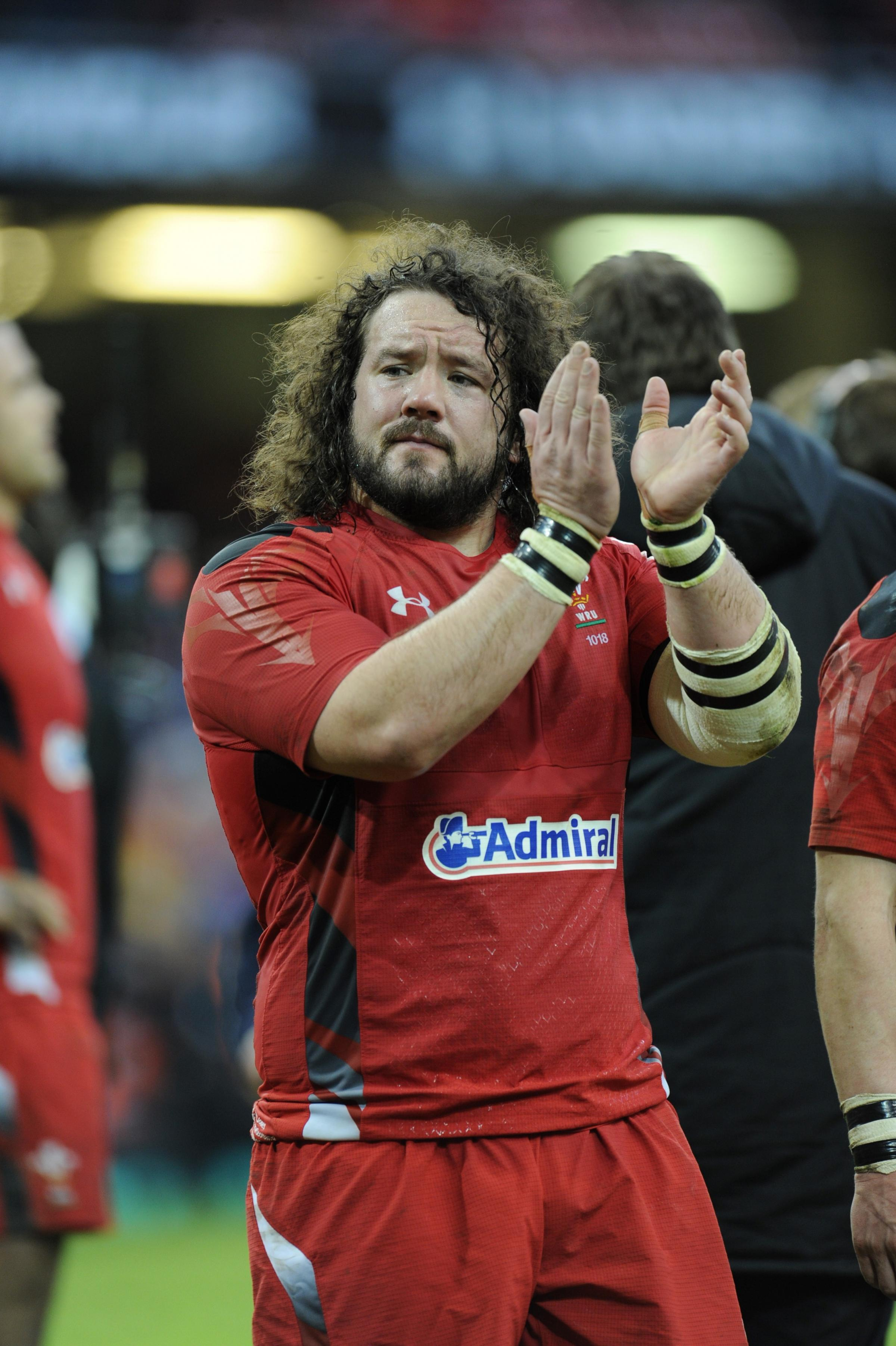 SURPRISE: Adam Jones' move to Cardiff has given Robin McBryde the Blues