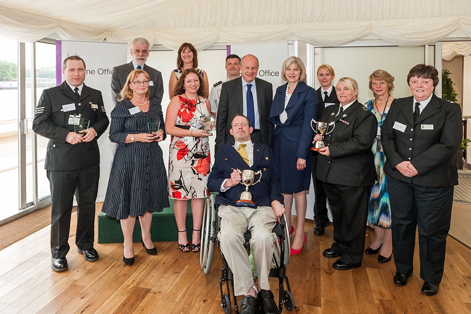 Gwent Police officer wins Home Office award