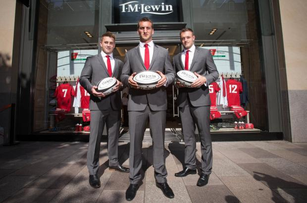 Campaign Series: 25.06.14 - Welsh Rugby Union and T M Lewin partnership announcement, Cardiff -  © Huw Evans Agency, Cardiff (7553788)