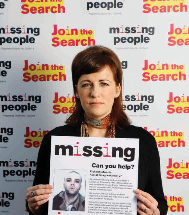 Campaign Series: SUBMITTED  Rachel Elias, who has thanked players of the People's Postcode Lottery for raising £2.2 million for Missing People. (3375223)