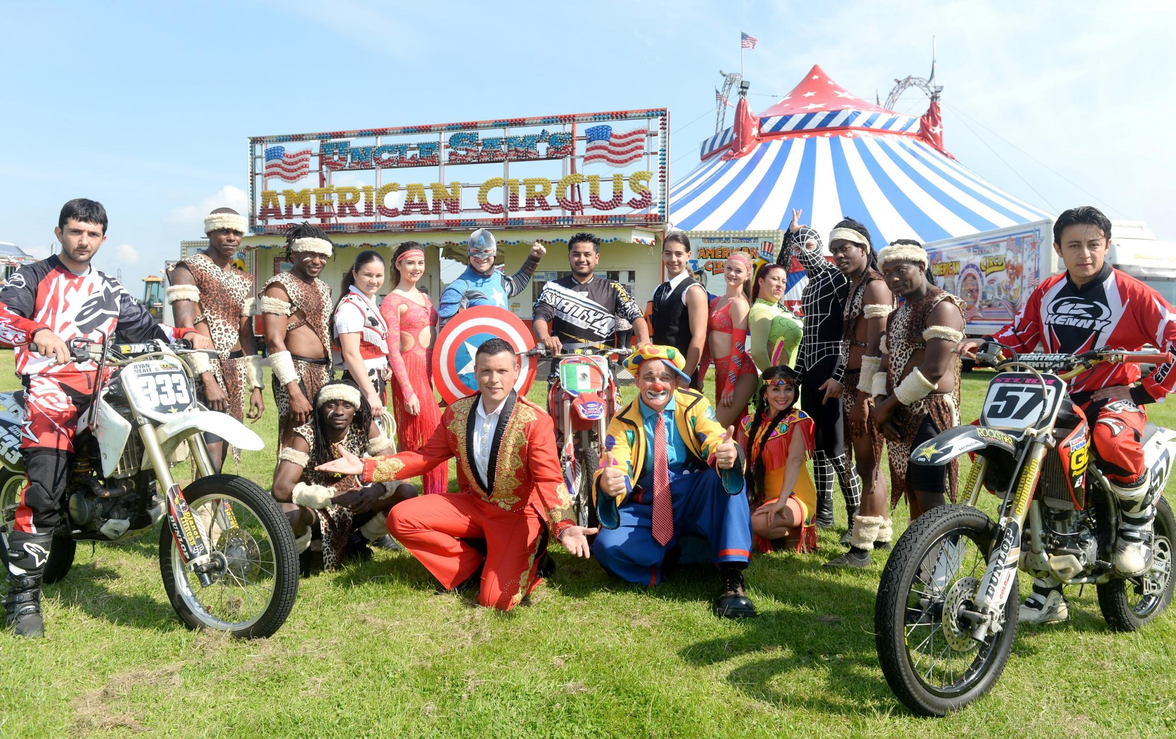 American Circus comes to Blackwood