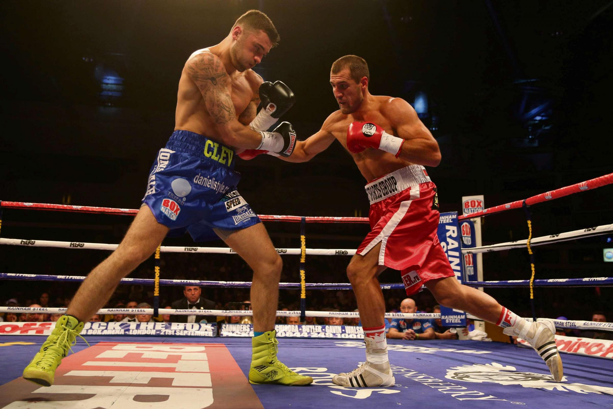 DEFEAT: Nathan Cleverly can't afford a repeat of last year's loss to Sergey Kovalev