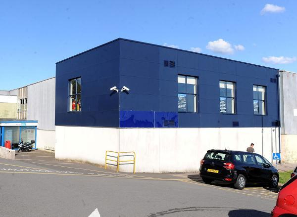 DEMOLITION THREAT: Risca Leisure Centre