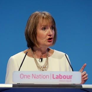 Harriet Harman is to highlight a drop in membership income for the Tories in 14 of their 20 most marginal seats