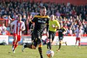 07.03.15 - Stevenage Borough v Newport County -  Sky Bet League 2 - Robbie Willmott of Newport County. (20153306)