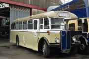 Historic bus returns home
