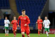 U21s: Lee Evans gets on the ball