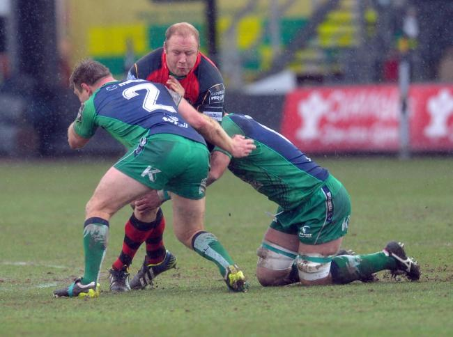 INFLUENTIAL FIGURE: South African prop Brok Harris has been a mainstay of the Dragons' front row since arriving from South Africa