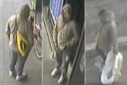 Police release CCTV stills after charity box theft at high-street store