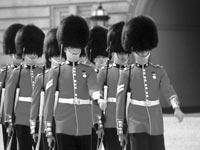 ENDURING ATTRACTION: The Changing of the Guard at Buckingham Palace is a must see for tourists to Britain