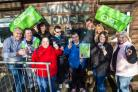 Community support workers give back with award winning recycling initiative
