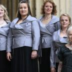 Campaign Series: Dame Vivienne Westwood gives female choir a fashionable makeover