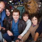 Campaign Series: Han Solo movie cast together as filming of Star Wars spin-off begins