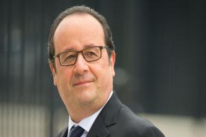 Francois Hollande takes mickey out of Donald on visit to Disneyland Paris