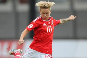 Wales star Fishlock celebrates century with a goal in friendly victory