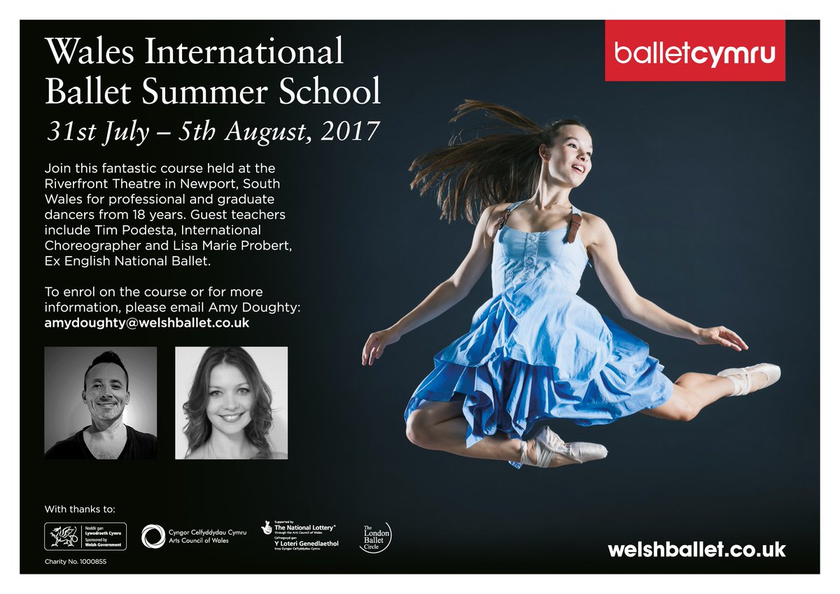 Ballet Cymru International Summer Dance School