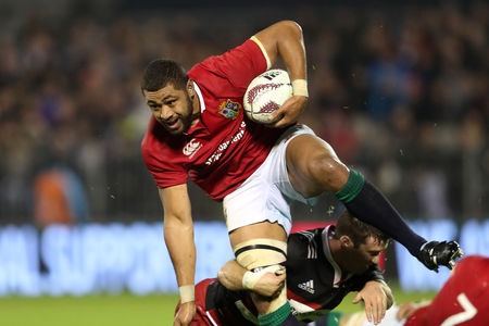 KIWI CONTEST: Taulupe Faletau in action for the Lions this summer