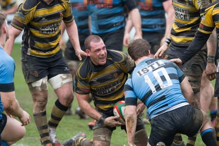 Campaign Series: LEADER: Flanker Rhys Jenkins, pictured celebrating a try against Cardiff, has been named as Newport captain