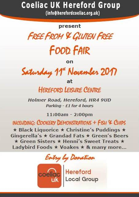 Gluten Free & Free From Food Fair