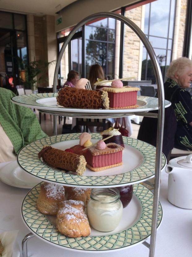 Campaign Series: Summer afternoon tea at the Celtic Manor Resort