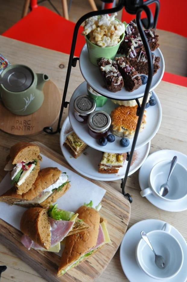 Campaign Series: Afternoon tea at Parc Pantry, Newport