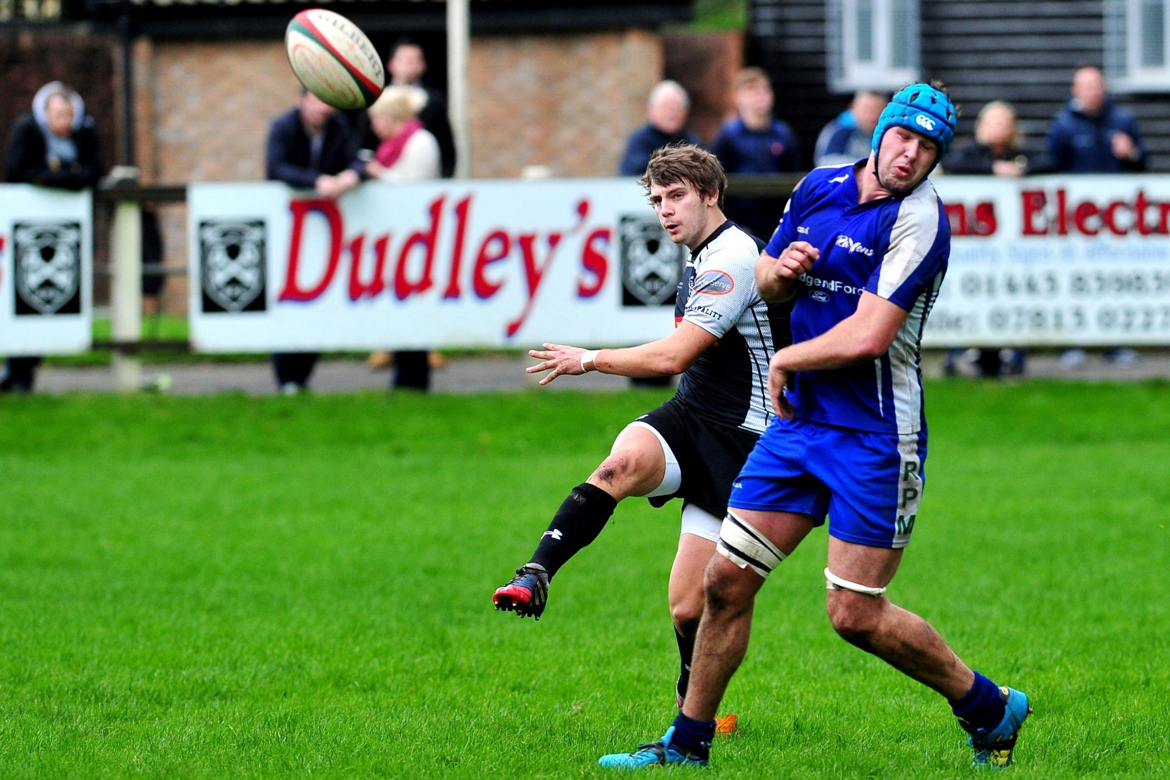 PANDY RETURN: Keys old boy Steffan Jones will try to put the boot into his old side with Bedwas