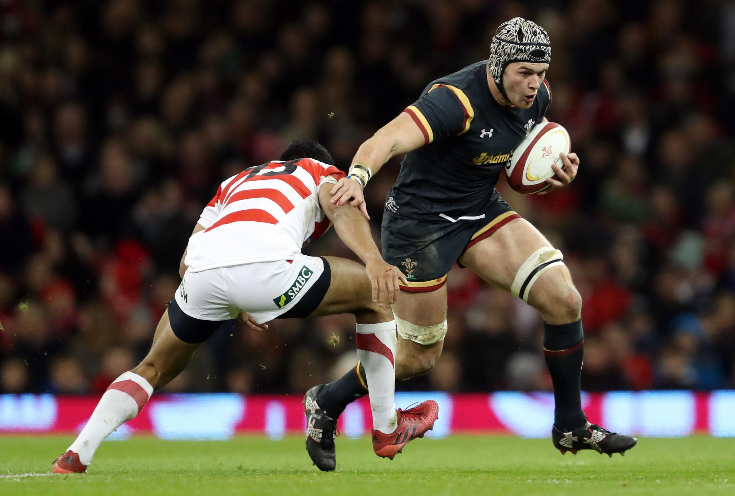RECALLED: Dan Lydiate has a chance to impress for Wales
